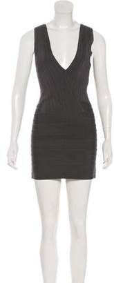 Herve Leger Sleeveless Bandage Dress Sleeveless Bandage Dress