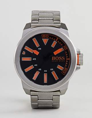 BOSS ORANGE By Hugo Boss New York Watch With Stainless Steel Strap