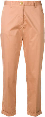 Mauro Grifoni cropped fitted trousers