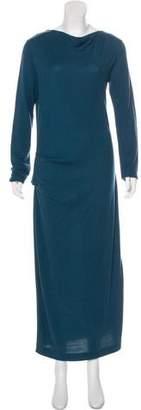 By Malene Birger Long Sleeve Maxi Dress
