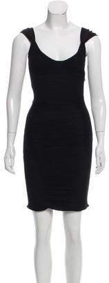 Zac Posen Knit Knee-Length Dress