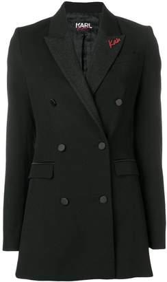 Karl Lagerfeld X Kaia Tux Blazer W/Lurex