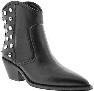 Marc Fisher Studded Leather Booties