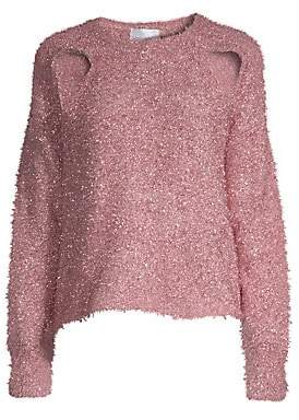 Alice McCall Women's Metallic Cutout Sweater
