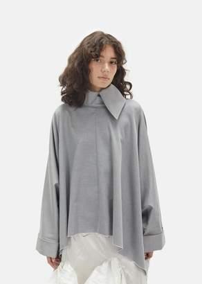 Marques Almeida Marques ' Almeida Cotton Rectangle Tunic Grey
