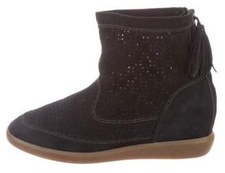 Isabel Marant Perforated Suede Boots