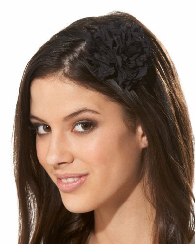 Bebe Crinkle Flower Headband