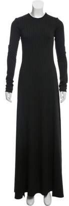 Michael Lo Sordo Cutout Maxi Dress Black Cutout Maxi Dress