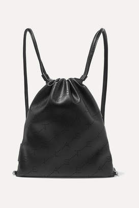 Stella McCartney Perforated Faux Leather Backpack