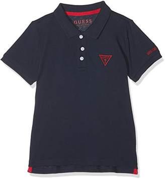GUESS Boy's Ss Core Polo Shirt, (Blue Navy G720)