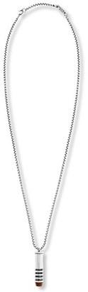 Men's Steve Madden Wood Tip Bullet Pendant Necklace $40 thestylecure.com