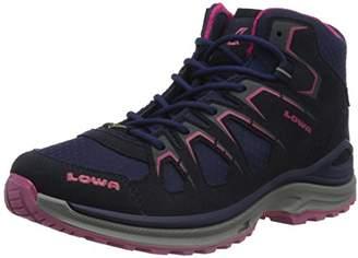 Lowa Innox Evo GTX QC, Women's Low Rise Hiking Shoes, Blue (Navy/fuchsia), ( EU)