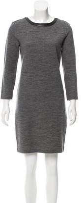 J Brand Long Sleeve Mini Dress