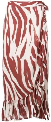 Anine Bing Lucky wrap skirt