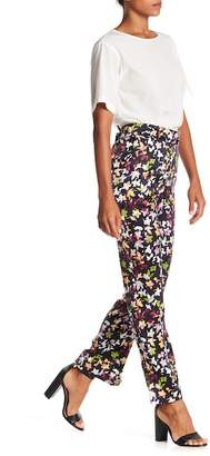 Equipment Florence Floral Print Silk Trousers