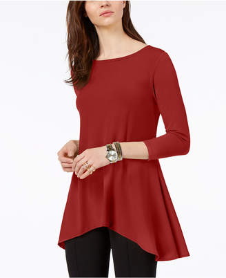 Alfani Petite High-Low Tunic
