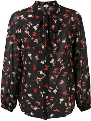 Liu Jo butterfly print shirt