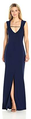 Laundry by Shelli Segal Women's Embellished Long Jersey Gown