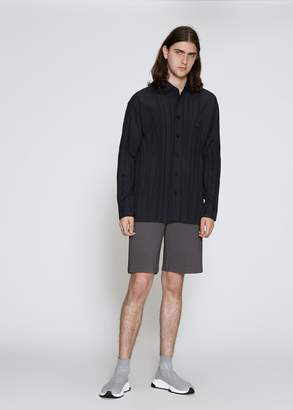 Issey Miyake Basic Wrinkle Shirt