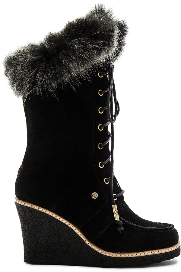 Australia Luxe Collective Australia Luxe Collective Mandinka Boot with Faux Fur Cuff