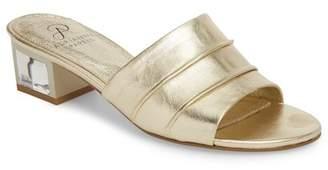 Adrianna Papell Tiana Block Heel Slide Sandal (Women)