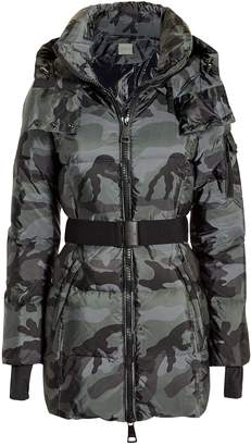 SAM. Soho Belted Camo Puffer Jacket