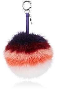 Fendi Women's Pom-Pom Bag Charm-Purple +multicolor +purple Rain +palladi