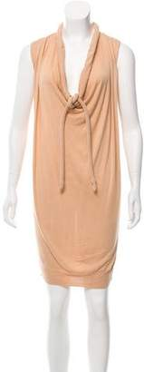 Maison Margiela Cowl Neck Knit Dress