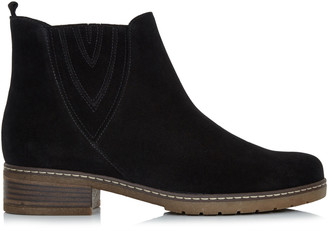 Gabor Crepe Sole Suede Chelsea Boot