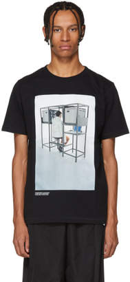 Off-White Black Byredo Edition Elevator Music Slim T-Shirt