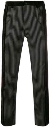 Dolce & Gabbana striped tailored trousers