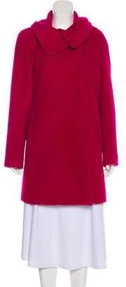 Cinzia Rocca Wool-Blend Knee-Length Coat