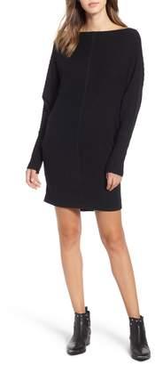 BP Rib Bateau Sweater Dress