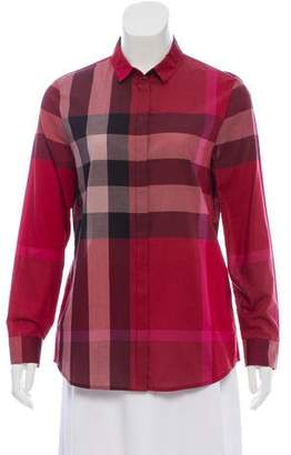 Burberry Exploded Check Top