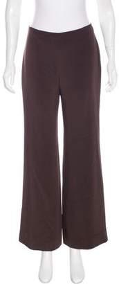 Naeem Khan Silk Wide-Leg Pants