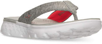 Skechers Women's On The Go - Vivacity Flip Flop Thong Sandals from Finish Line $34.99 thestylecure.com