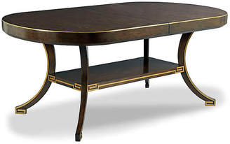 One Kings Lane Denise Dining Table - Espresso/Gold
