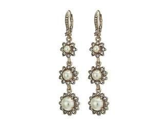 Marchesa Pearl Linear Earrings