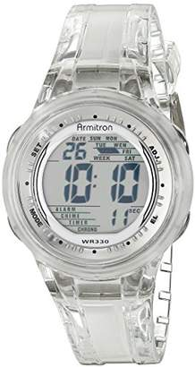 Armitron Sport Women's 45/7051CLR Digital Jelly Strap Watch