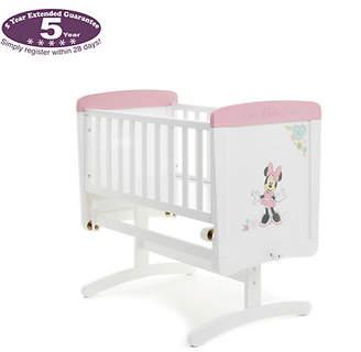 Disney Minnie Gliding Crib & Mattress