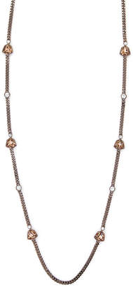 Givenchy Bronze-Tone Accented Necklace
