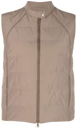 Brunello Cucinelli zipped gilet