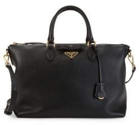Prada Leather Crossbody Tote