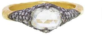 Cathy Waterman Grey Moghul Diamond Ring - 22 Karat Gold