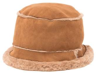 David & Young Faux Fur Bucket Hat