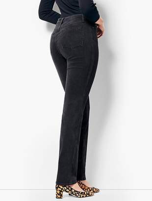 Talbots High-Rise Straight-Leg Jean - Curvy Fit/Galaxy Wash