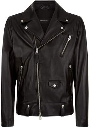 Mackage Leather Biker Jacket