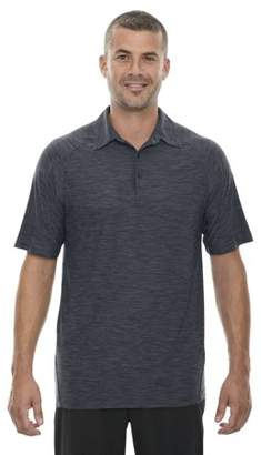 North End Sport Red 88668 Barcode Men's Performance Stretch Polo Shirt