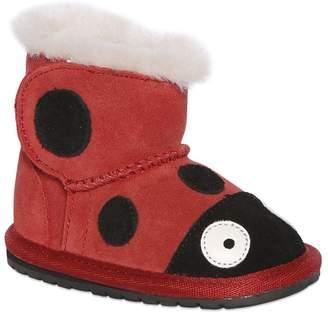 Emu Ladybird Merino Wool & Suede Boots