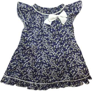 Mademoiselle Croisette Liberty Mitsi Blue Dress
